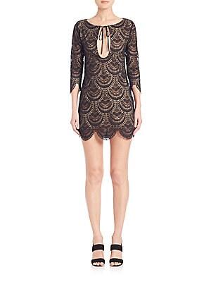 Rosalita Cutout Lace Dress