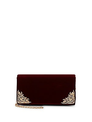 Velvet Baroque Convertible Clutch