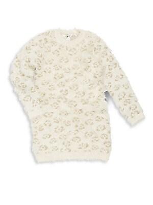 Little Girl's & Girl's Textured Pullover