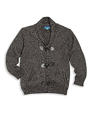 Baby's, Toddler's & Little Boy's Toggle Cardigan