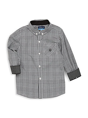 Little Boy's Plaid Cotton Shirt