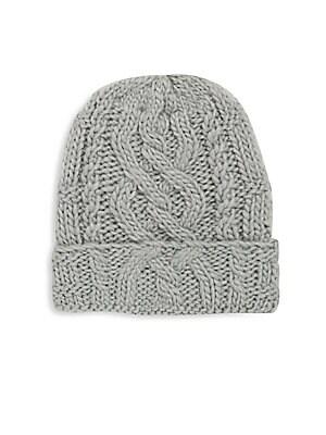 Solid Woven Cap