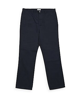 Big & Tall Solid Cotton Pants