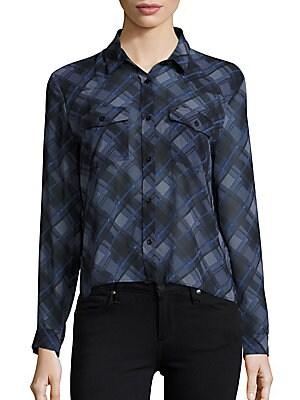 Button-Down Printed Shirt