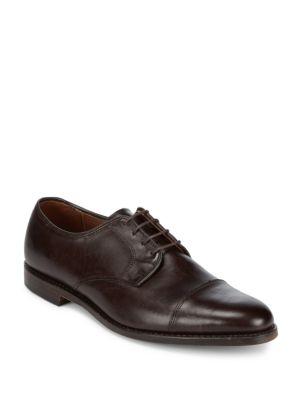 Riverside Leather Cap Toe Oxfords Allen Edmonds