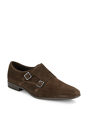 Congo Buckle Suede Shoes