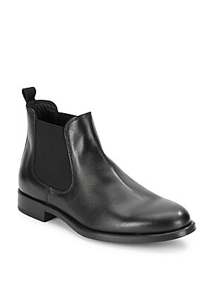 Beatles Slip-On Leather Boots