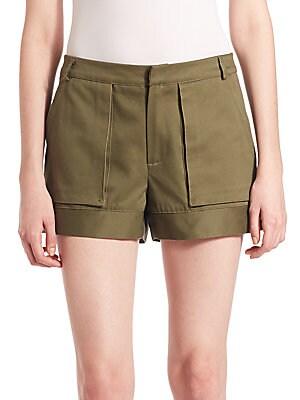 Ari Four-Pocket Cotton Cargo Shorts