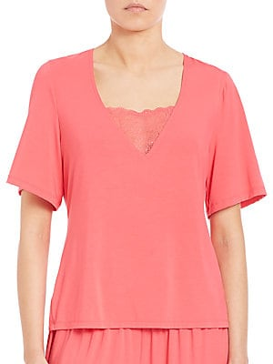 Relaxed-Fit Short-Sleeve Top