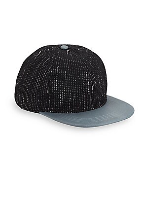 Corey Wool Blend Striped Cap