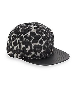 Corey Leopard Printed Cap