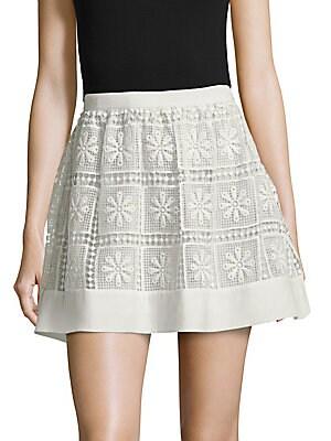 Crochet Zip Skirt