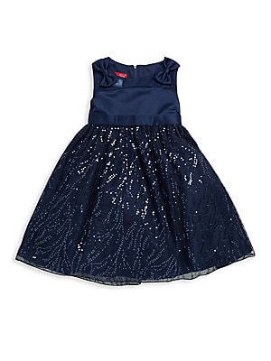 Little Girl's Sequined Dress