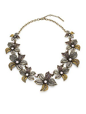 Fall Floral Necklace