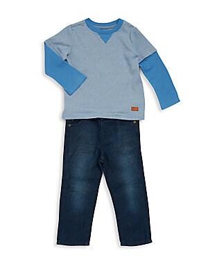 Baby's Top & Jeans Set
