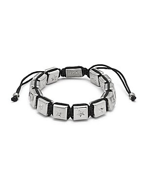Square Star Beaded Bracelet