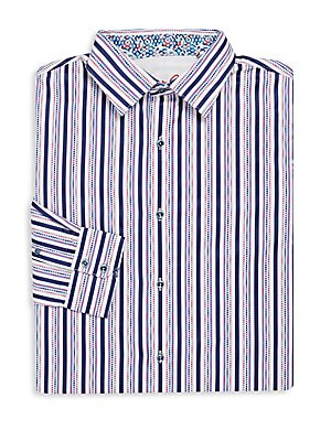 Big & Tall Striped Dress Shirt