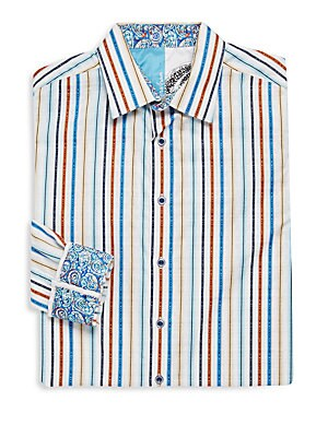 Teepee Striped Dress Shirt