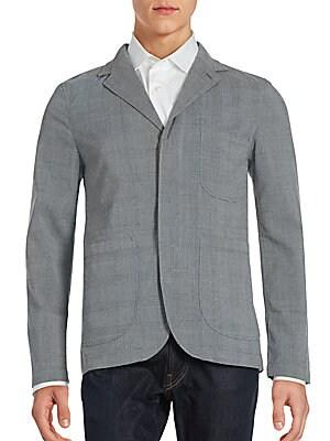 Long Sleeve Textured Jacket
