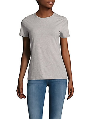 Short-Sleeve Heathered Tee