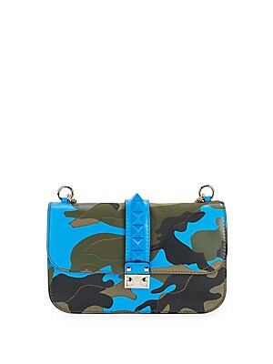 Mini Camo Crossbody Minaudiere