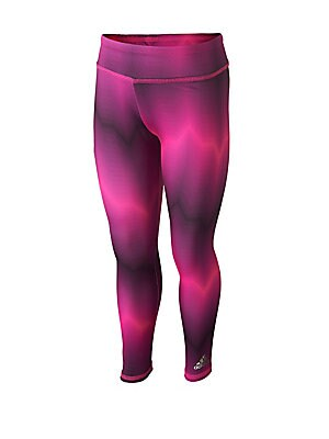Little Girl's Seasonal Printed Athletic Tights
