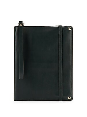 Studded Leather Notebook Case