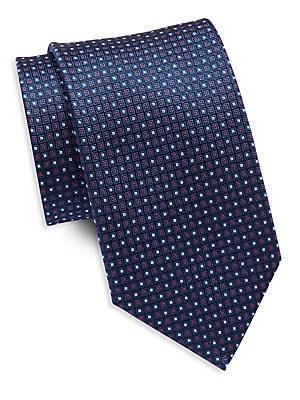 Two Tone Silk Tie