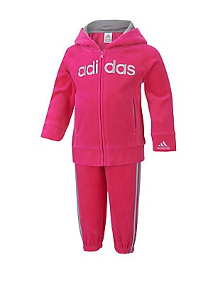 Baby's Warm-Up Two-Piece Hoodie & Jogger Pants Set