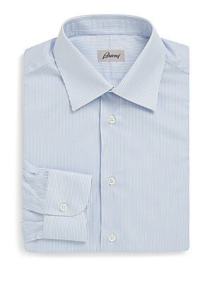 Classic Striped Dress Shirt