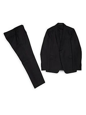 Wool & Silk-Blend Suit
