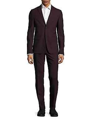 Virgin Wool Blend Suit