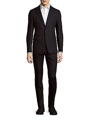 Woolen Striped Suit