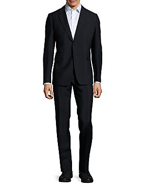 Blended Mohair Wool Suit