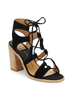 Open-Toe Ghillie Lace-Up Sandals