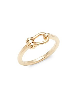 18K Gold-Plated Sterling Silver Ring