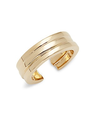 18K Gold-Plated Layered Ring