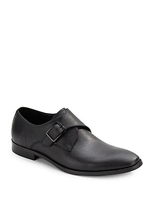 1 Way Ticket Leather Shoes