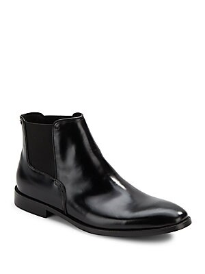 Season Ticket Leather Ankle Boots
