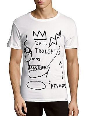 Basquiat Short-Sleeve Cotton Tee