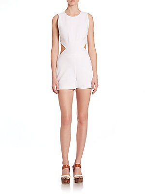 Fitted Cross Body Romper
