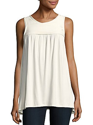 Roundneck Sleeveless Top