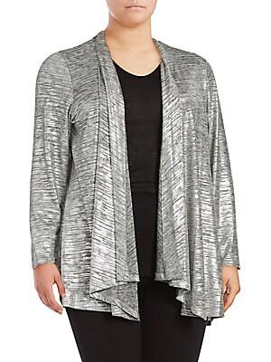 Open Front Long Sleeve Jacket