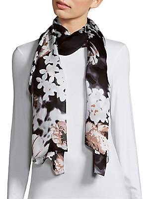 Falling Floral Scarf