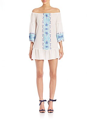 Click here for Santorini Embroidered Dress prices