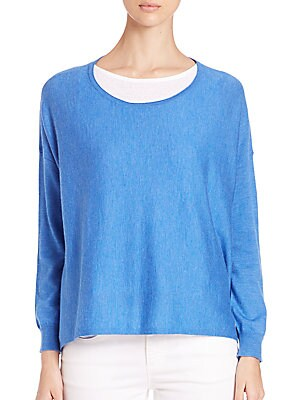 Featherweight Cashmere Box Top