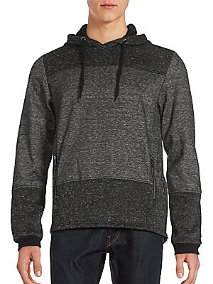 Fenrico Two-Tone Fleece Hoodie