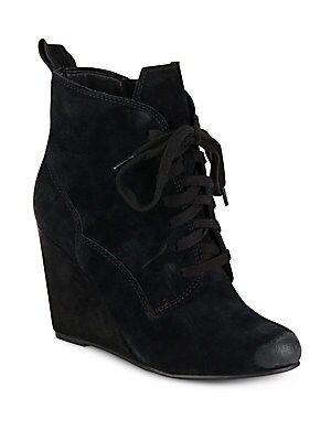 dolce vita female grady suede wedge heels