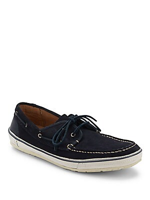 Redding Leather Boat Shoes