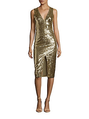 Leora Sequined Dress